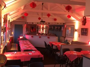 The scene is set for the Gunfleet Chinese Evening