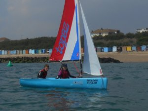 Owen and Lauren lead the Topaz fleet