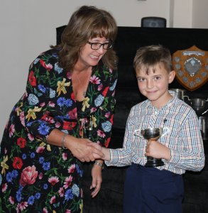 Otter George Smith is one of the youngest members to receive the Stan Camp Progress Cup